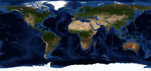 Nasa-satellite-earth-map